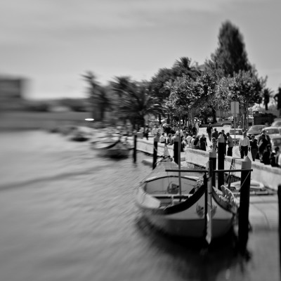 Gondolas in Aveiro, Portugal