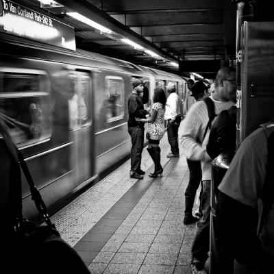 Subway in New York City, USA