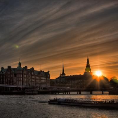 The Canals in Copenhagen, Denmark