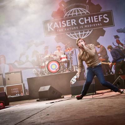 Kaiser Chiefs (UK) @ Nibe Festival 2011, Denmark