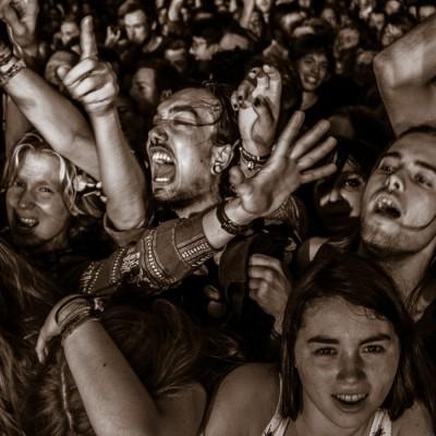 The crowd at Foals-concert (UK) @ Vega in Copenhagen, Denmark