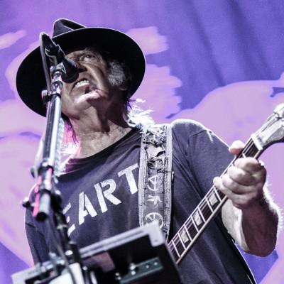Neil Young (US) @ Forum in Copenhagen, Denmark