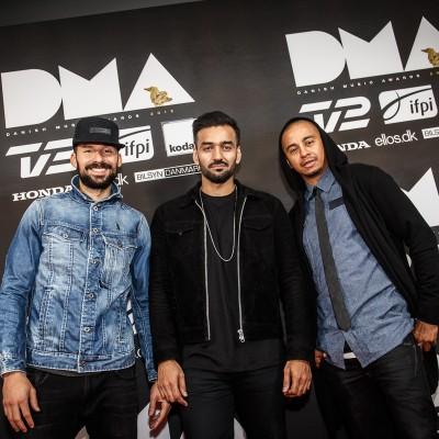 Outlandish @ Danish Music Awards 2015