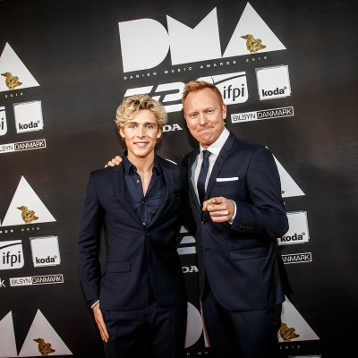Christopher & Anders Breinholt @ Danish Music Awards 2015