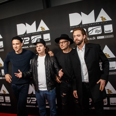 Lukas Graham @ Danish Music Awards 2015