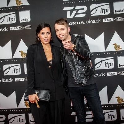 Coco & Mads Langer @ Danish Music Awards 2015