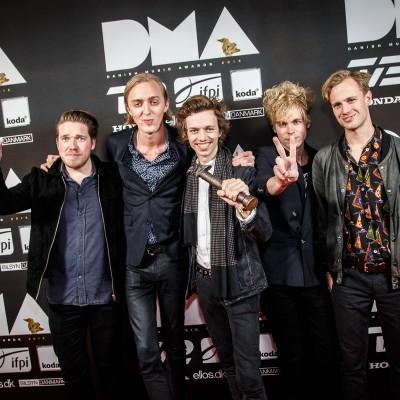 Ulige Numre @ Danish Music Awards 2015