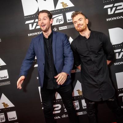 Rasmus Seebach & Ankerstjerne @ Danish Music Awards 2015