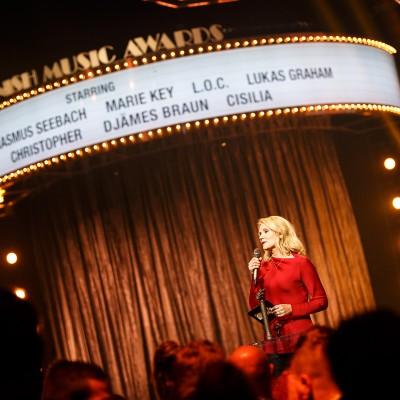 Helle Thorning Smith @ Danish Music Awards 2015