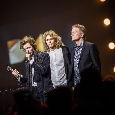 Carl Emil Petersen (Årets Sangskriver) @ Danish Music Awards 2015