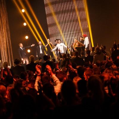 Lukas Graham (Årets Udgivelse) @ Danish Music Awards 2015